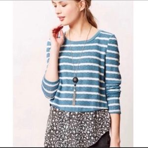 Anthropologie layered sweater